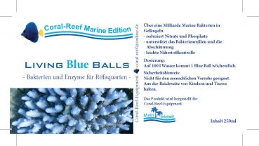 Living Blue Balls 250 ml